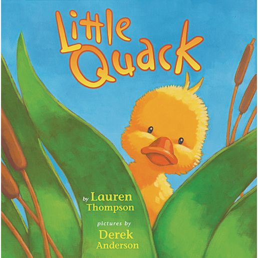 Little Quack (Hardcover Book)