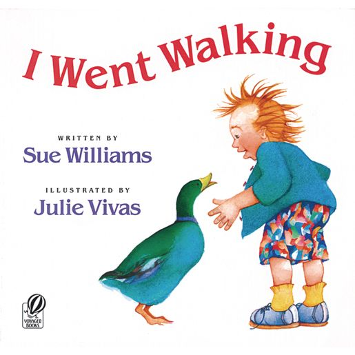 I Went Walking - Paperback Book