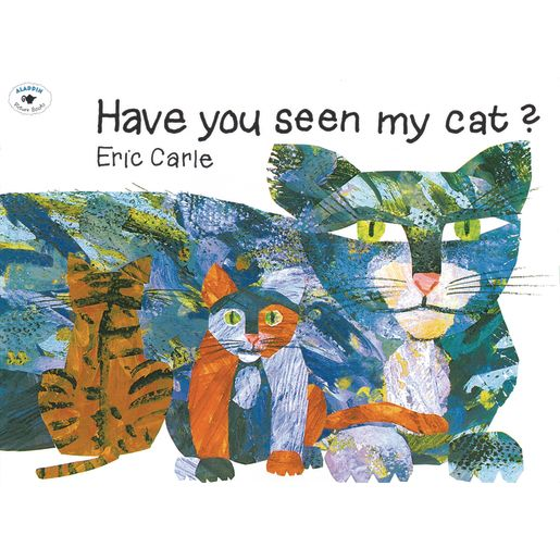 Have You Seen My Cat? Paperback Book