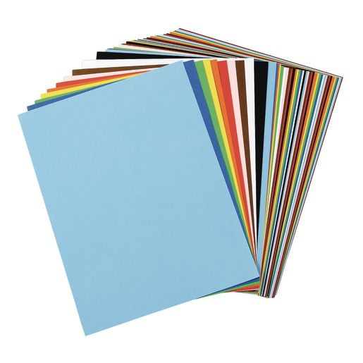 Image of Tru-Ray Assorted Colors Sulphite Paper, 9 x 12 - 50 Sheets