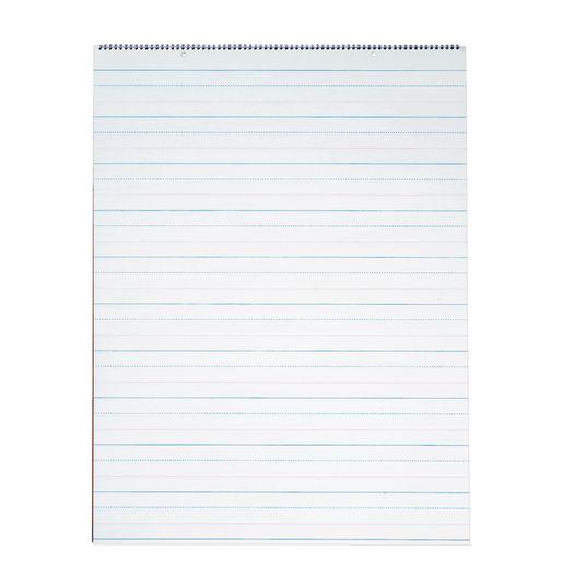 D'Nealian Chart Tablet - 25 Sheets