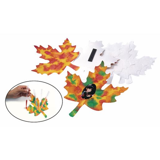 Lovely Liquid Watercolor™ Leaves - Set of 24