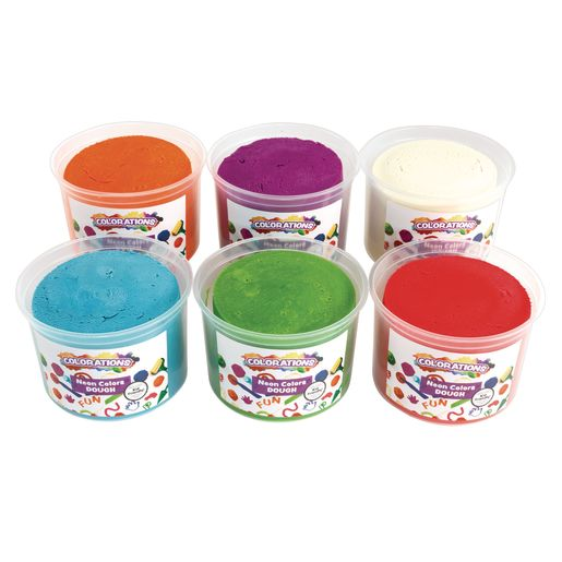 Image of Colorations Neon Best-Value Dough - 18 lbs.