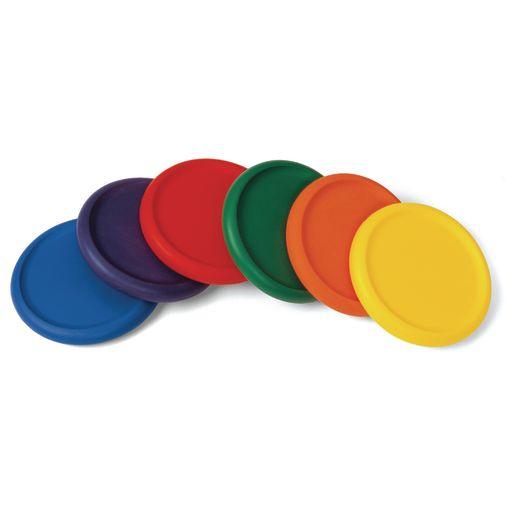 Soft Flying Discs - Set of 6
