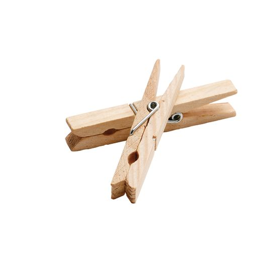 Colorations® Wood Clothespins - Set of 48