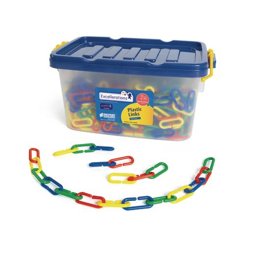 Excellerations® Plastic Links - 500 Pieces