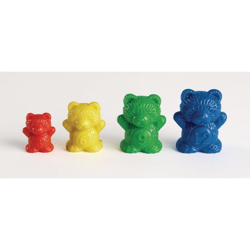 Excellerations® Weighted Counting Bears - 96 Pieces