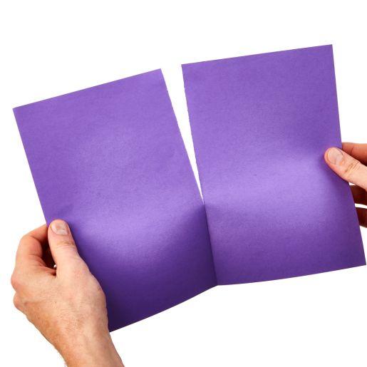 "Tru-Ray® Purple Sulphite Paper, 9"" x 12"" - 50 Sheets"