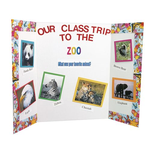 Tri-Fold Display Boards - Set of 30