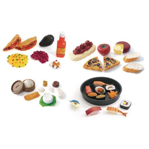 Multicultural Food Sets - Set of All 5