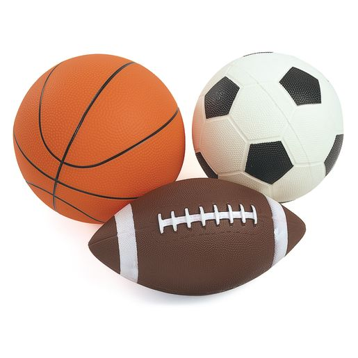 Set of 3 Activity Balls