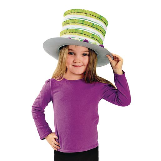 Colorations® White Paper Top Hats - Set of 12_3