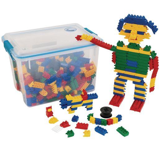 Flexiblocks Classroom Building Set - 720 Pieces