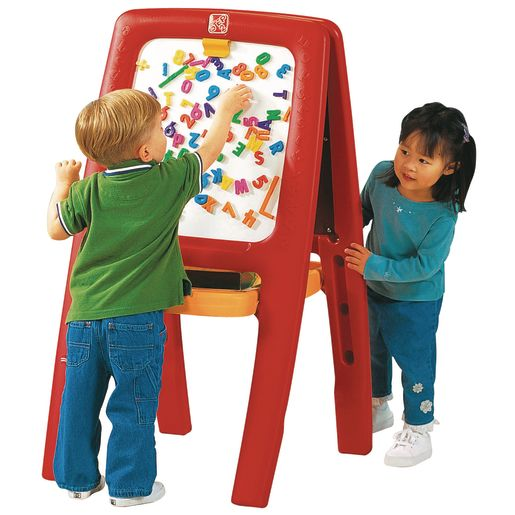 Easel for Two with Letters and Numbers