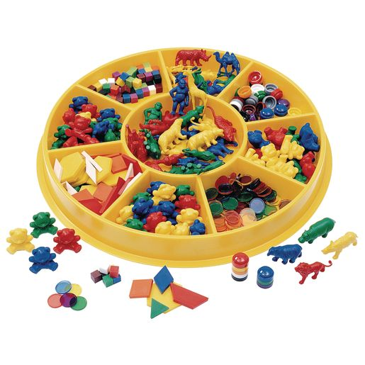 Image of Excellerations Classroom Sorting Center - 341 Pieces