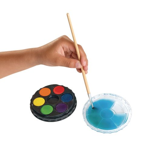 Colorations® Classroom Watercolor Paint Compact, 6 Colors - Individual_3
