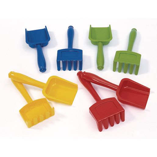 Excellerations® Shovels and Rakes - Set of 8