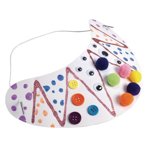 Colorations® Decorate Your Own Visors - Set of 24_0