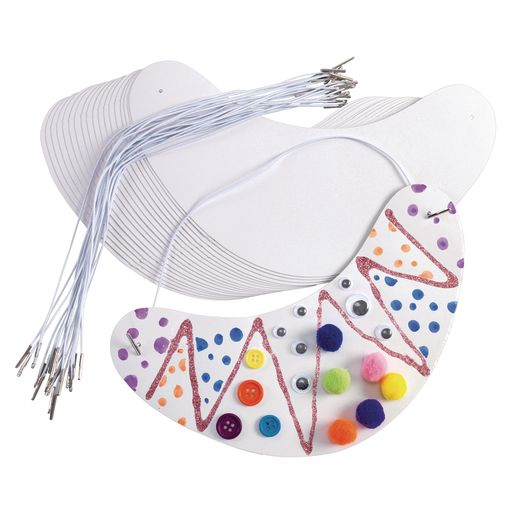 Colorations® Decorate Your Own Visors - Set of 24_1