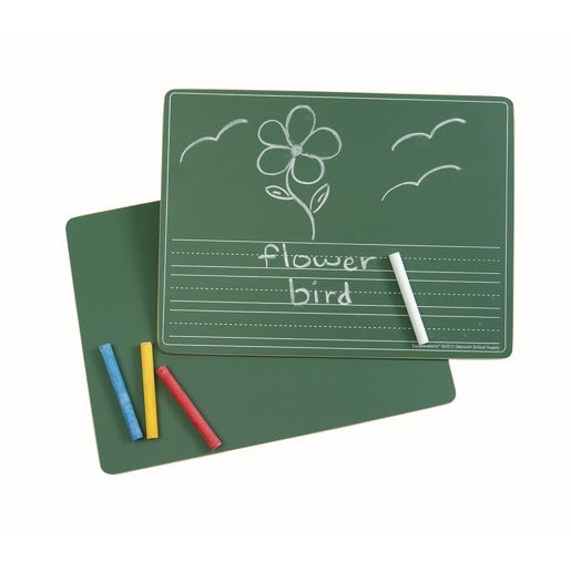 Excellerations® Reversible Picture Story Chalkboard