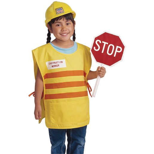 Excellerations® Construction Worker Classic Career Costume_0