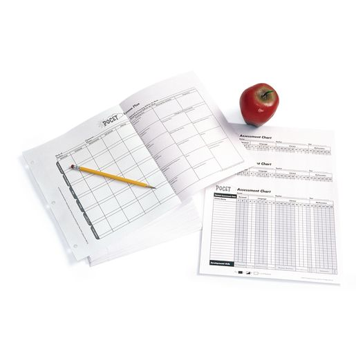POCET™ Lesson Plans Refill Pack - 52 Plans and 3 Classroom Charts