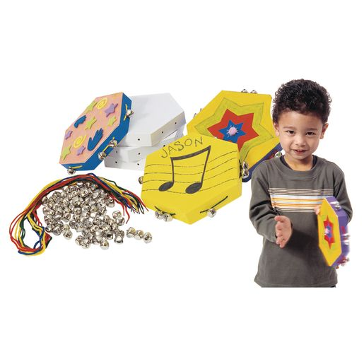 Colorations® Make Your Own Tambourine - Kit for 12