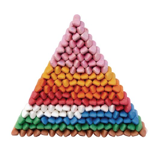 Colorations® My First Stubby Chalk - Set of 160