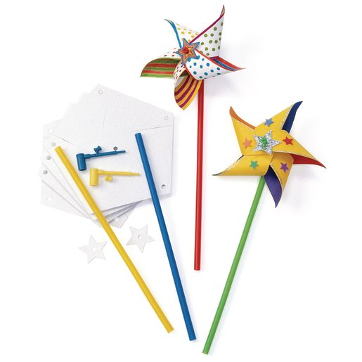 Colorations® Design Your Own Pinwheel - Kit for 24