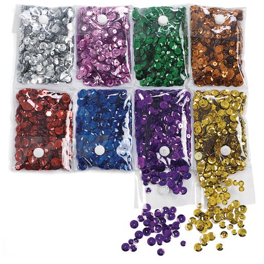 Colorations® Super Sequin Pack - 8 1/2 oz.