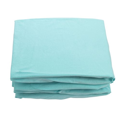 Image of Blue 100% Cotton Crib Sheets - Set of 6