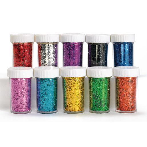 Colorations® Glitter Jars Classroom Pack - Set of 30