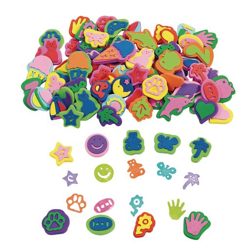 Image of Colorations Super Stamper Mega Pack - 80 Pieces