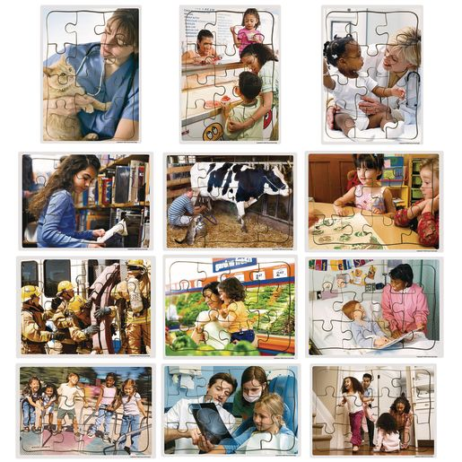 Excellerations® Community Puzzles - Set of 12