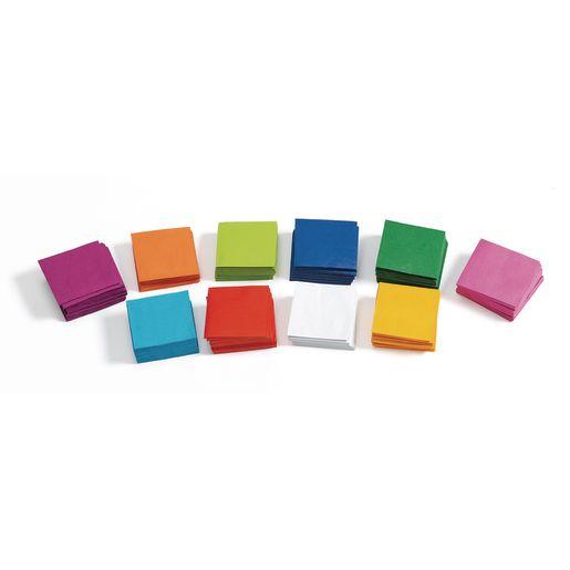 Colorations® Mini Tissue Squares - 5,000 Pieces