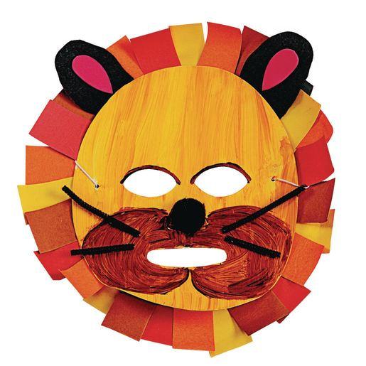 Colorations® Cardstock Masks - Set of 24