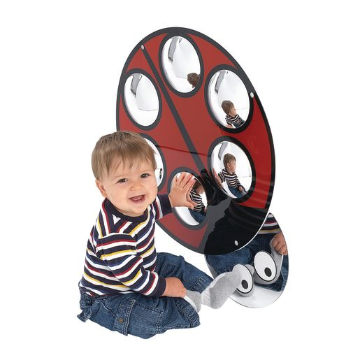 Ladybug Bubble Mirror