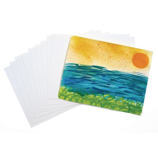 "9"" x 12"" Real Watercolor Paper, 50 Sheets"