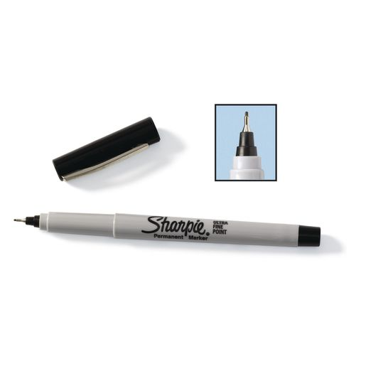 Sharpie® Ultra Fine Point Black Markers - Set of 12