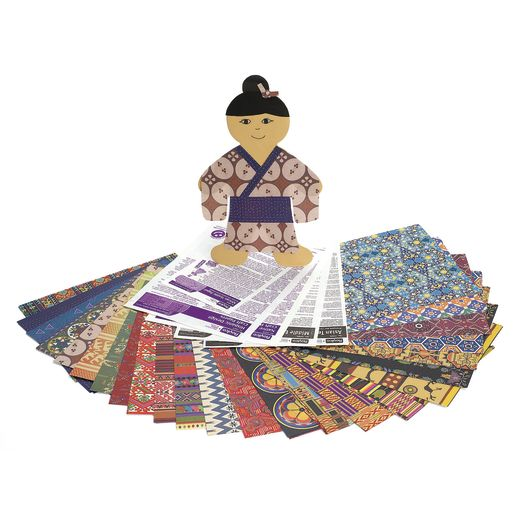 Image of World Paper Pack - 160 Sheets