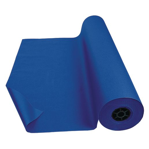 "Colorations® Dual Surface Paper Roll, Royal Blue, 36"" x 1000'"
