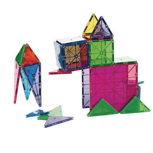 Image of Magna-Tiles Clear Colors - 32 Pieces
