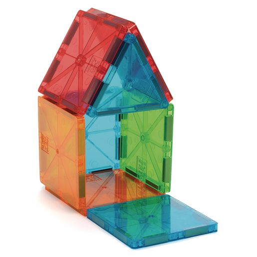Magna-Tiles® Clear Colors - 32 Pieces