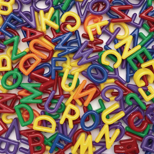 Colorations® Big Letter Beads - 300 Pieces