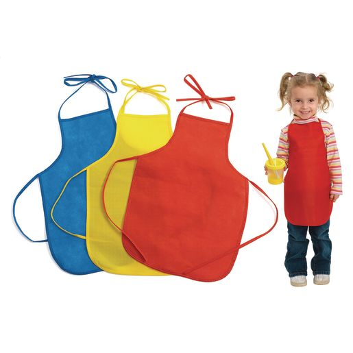 Image of Colorations Lightweight Paint Aprons - Set of 12