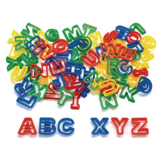 Colorations® ABC Dough Cutters - Set of 78
