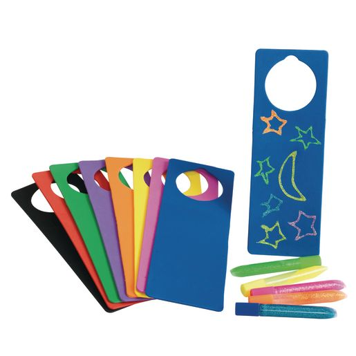 Colorations® Foam Door Hangers - Set of 24_1