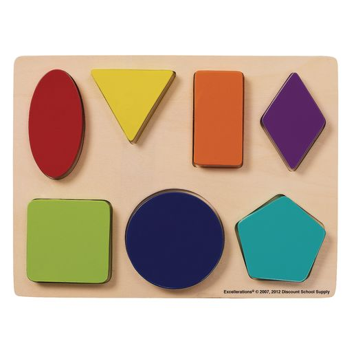 Image of Excellerations Shapes Chunky Puzzles