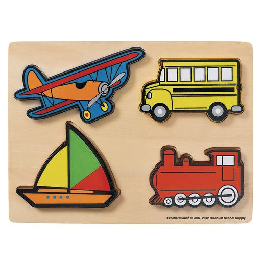 Excellerations® Vehicles Chunky Puzzles