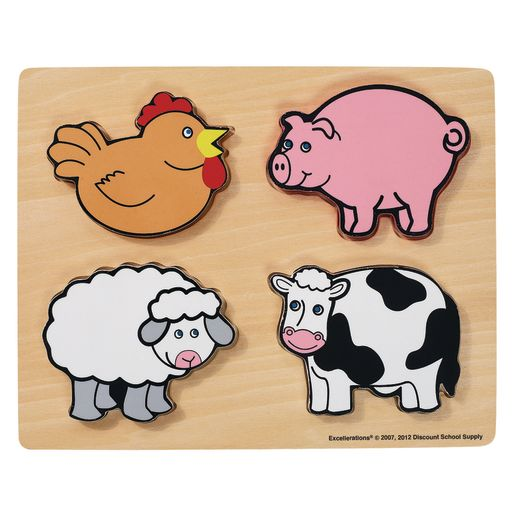 Excellerations® Farm Animals Chunky Puzzle